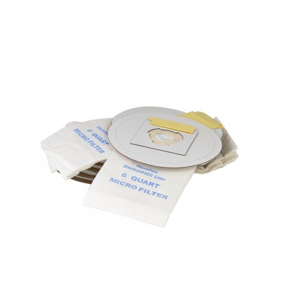 Støvsugerpose til HEPA Rygstøvsuger