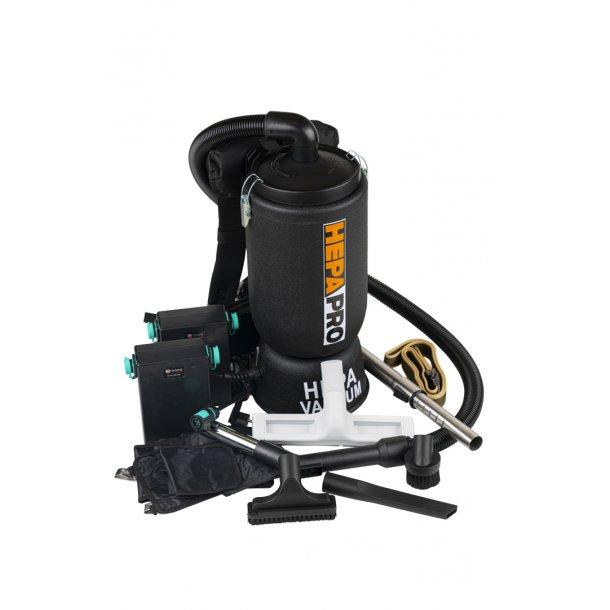 HEPA-PRO Rygstøvsuger med batteri