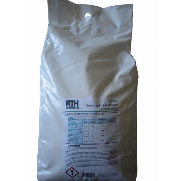 Vaskepulver: RTH Universal vaskepulver / 10 kg.