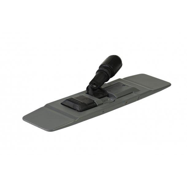 Drypmoppe-fremfører, knæk, grå, 40 cm